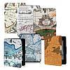 Ретро карты мира Pattens случай крышки PU кожаный кожи для Amazon Kindle Paperwhite