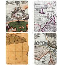 Ретро карты мира Pattens случай крышки PU кожаный кожи для Amazon Kindle Paperwhite, фото 2