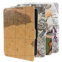 Ретро карты мира Pattens случай крышки PU кожаный кожи для Amazon Kindle Paperwhite, фото 3