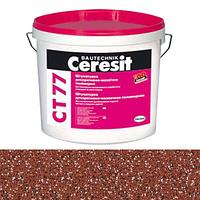 CERESIT. Мозаїчна штукатурка  СТ 77  1D колір/ 0.8-1.2 мм (14 кг)