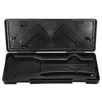 Черный пластик штангенциркуль коробка для 6 дюймов электронной цифровой микрометр GUAGE, фото 2