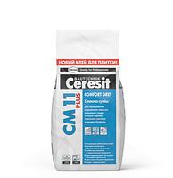 CERESIT. THOMSIT. Клей для керамічної плитки СМ 11 PLUS (5кг)