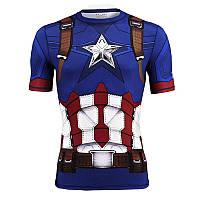 426c68da9269fbb Футболка Under Armour® Alter Ego Captain America Compression — в ...