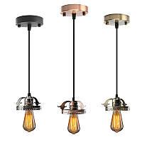 Античный промышленный марочные потолок подвесной светильник лампа лампа люстра светильник для внутреннего освещения