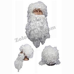 Борода Санта Клауса с париком