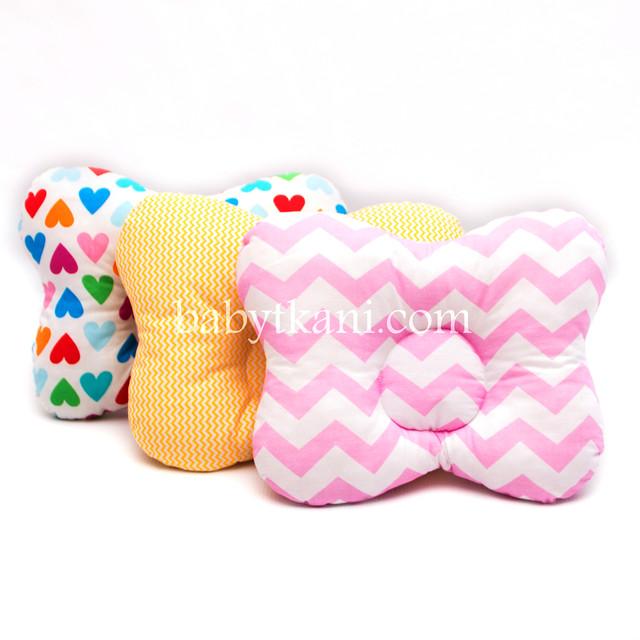 Ортопедические подушки для новорожденных