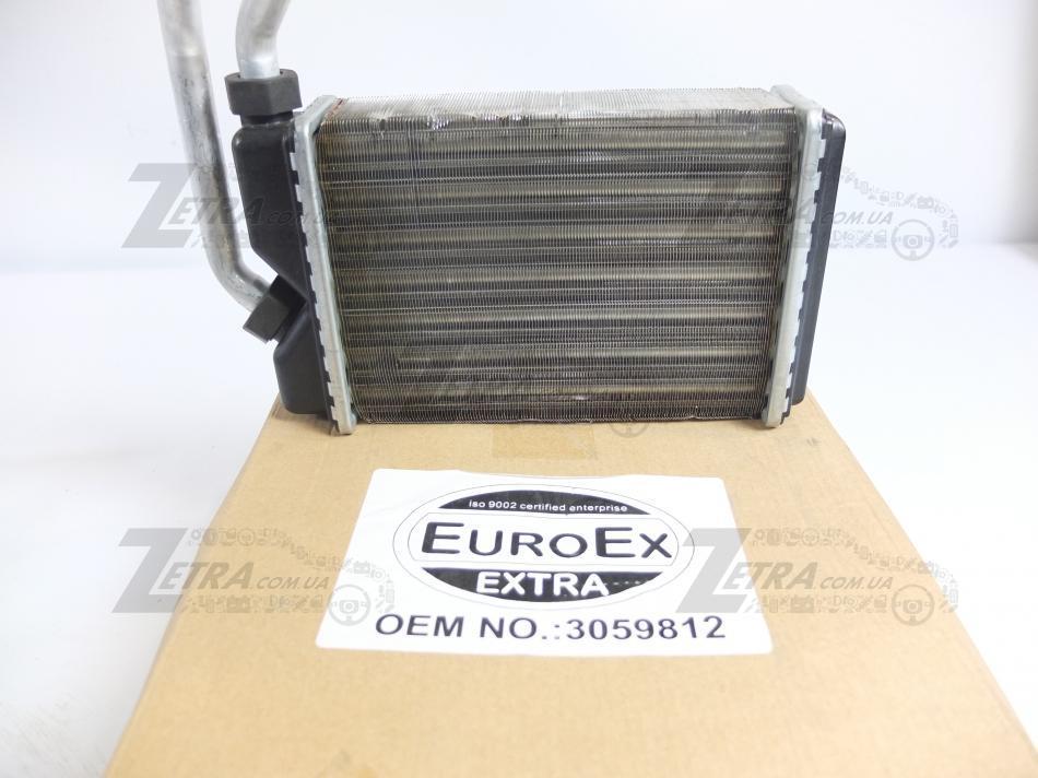 """Радиатор отопителя, радиатор печки Нексия, Nexia """"EuroEx"""" (3059812) до 2008г"""