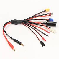 8 в 1 многофункциональный штекер зарядного устройства новообращенный кабель для липо батареи