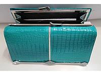 Кошелек Balisa C827-151 женский кожаный монетница снаружи 18,5 см * 9 см Бирюзовый