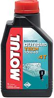 Масло для лодочных моторов Motul Outboard Tech 4t 10W40 (1 л)