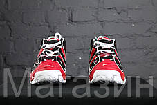 Мужские кроссовки Nike Air More Uptempo Bulls Varsity Red Найк Антемпо красные, фото 3