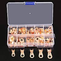 ВЗ кабель провод разъем клеммы медные наконечники 10A 20A 30A 40A 50A 70pcs
