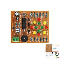 Музыка LED свет комплект электронного обучения DC 3V-5v CD4060 поделки