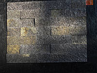 Coломка 6см торцованая из натурального камня  сланца «Мореный дуб»