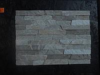 Coломка из натурального камня сланца Болгарского  «платина» 3- 6см.