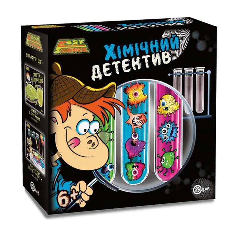 Химический детектив (укр.упаковка), Детский игровой набор, Easy Science