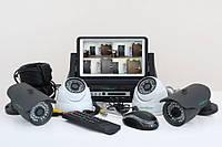 Комплект видеонаблюдения Green Vision GV-K-M 7304DP-CM02 LСD, фото 1