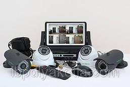 Комплект видеонаблюдения Green Vision GV-K-M 7304DP-CM02 LСD