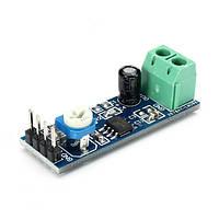 Модуль 20 раз получить аудио модуль усилителя с регулируемым сопротивлением LM386 3шт
