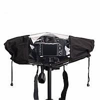 Nylon Крышка для дождя Водонепроницаемы Чехол Фотография для фотоаппаратов Аксессуары для Canon Nikon Pentax DSLR камера