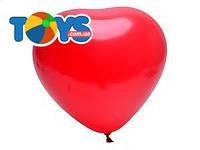 Воздушные шарики «Красное сердце», H80