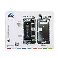 Магнитный проект мат винт хранитель диаграммы карта профессиональный гид по ремонту накладка инструменты для iPhone 6s/6с плюс