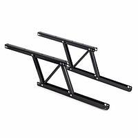 8x16.5cm 1 Pair Lift Up Регулируемые складывающиеся ножки Верхний стол Подъемный шарнир рамы 1TopShop