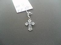 Серебряный Маленький Крестик Арт. Кр 23, фото 1
