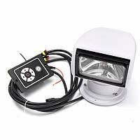 Вращение на 360 ° 12v 100w прожектора морской прожектор пульт дистанционного управления для лодки грузового автомобиля