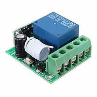 315MHz коммутационный модуль приемника дистанционного управления 1ch одного беспроводного канала реле ВЧ 10A DC12V