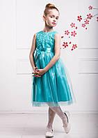 Обворожительное нарядное платье для девочки Венеция 110-134р