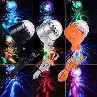 U`king RGB 3 LED свет этапа хрустальный шар эффект освещения клуба партии диско DJ XMAS лампы