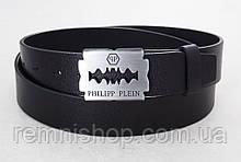 Шкіряний ремінь Philipp Plein (унісекс)
