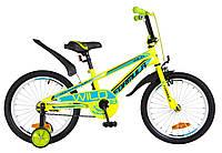 "Велосипед 18"" Formula WILD 2019 салатно-синий"