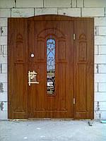 Нестандартные входные двери для коттеджей, фото 1