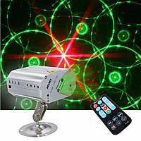 Мини г & г авто / звук LED свет этапа лазерный проектор Xmas DJ Party клуб лампа + дистанционный AC110-240V