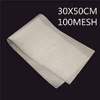 30x50см 300 меш фильтрации тканые проволоки из нержавеющей стали сетчатый фильтр чистый