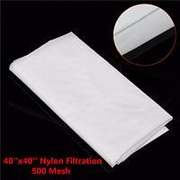 Фильтрация 500 меш вода масло промышленный фильтр ткани Nylon 40x40 дюймов