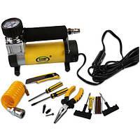 12v портативный металл автомобильных шин аварийного насоса надувной насос с легким электрический автомобиль ремонт инструмента