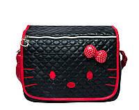 Детская сумка Hello Kitty 4 Цвета Черный (крас.)