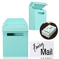1/12 Шкала Colorful Mail Коробка DIY Dollhouse Миниатюрные аксессуары для мебели для кукольных домиков