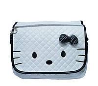 Детская сумка Hello Kitty 4 Цвета Белый(чер.)