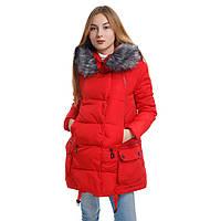 Куртка-пуховик женский деми (маломерят) Уценка Xinyu Т2662