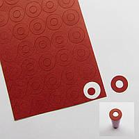 200 штук батареи картонные 18650 изоляторы электроизоляционные клейкую бумагу