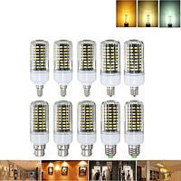 E27 e17 e14 e12 b22 9w 100 СМД 5736 LED чистый белый теплый белый натуральный белый кукуруза лампа AC85-265V