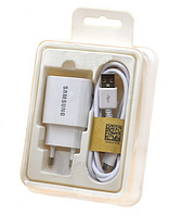 СЗУ Samsung Galaxy C9 Pro 2в1 Fast Charging Type-C 2A белый