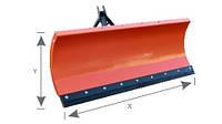 Снегоочиститель (снегоотвал) PVM 2000 для всех типов погрузчиков