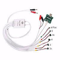 Профессиональный 6 в 1 блок питания телефона тока измерительного кабеля и платы активации батареи для iPhone 6/6 плюс / 5s / 5 / 4s / 4