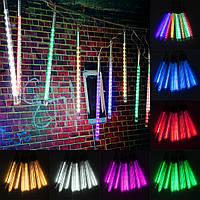10 трубки 30 см LED метеоритный ливень дождь падение на открытом воздухе рождественские Рождество строка дерева свет