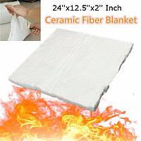 24x12.5x2 дюймовый алюминиевый силикат изоляции высокой температуры керамического волокна одеяло